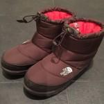 ノースフェイス ヌプシのブーツで冬も暖か
