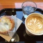 新川のガムツリーコーヒーのラテは冷めてもおいしい